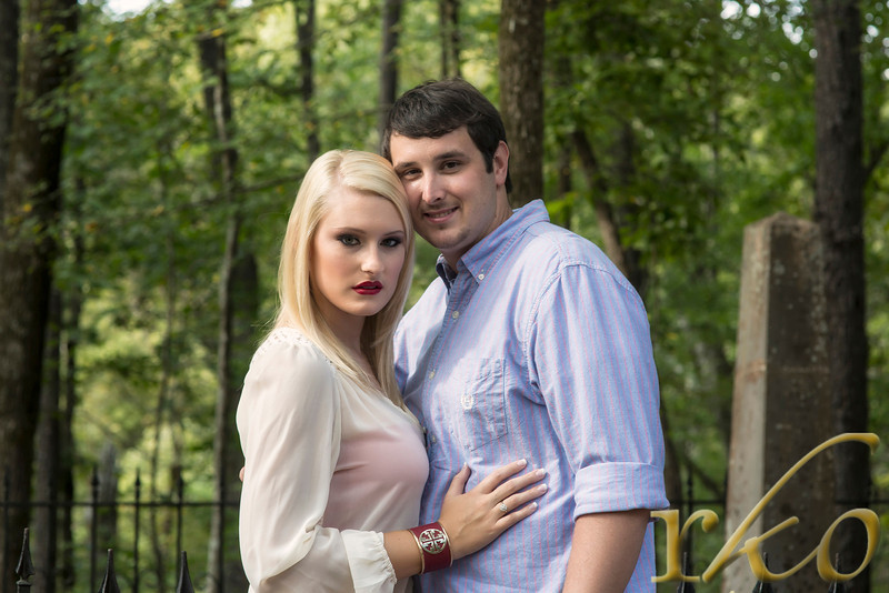 Michelle & Ben Engagement Photo, Tanneyhill State Park