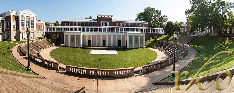 University of Virginia - Amphitheatre - Panorama