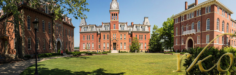 Campus, Panorama University of West Virginia old town campus