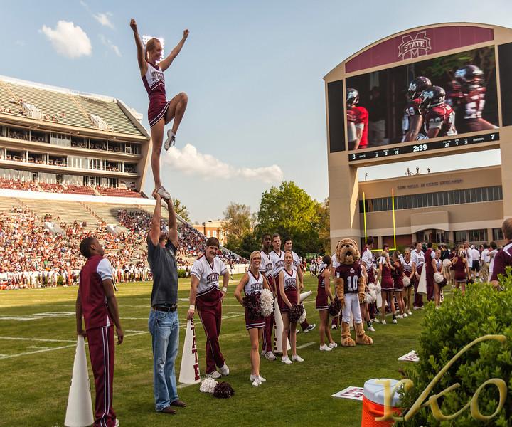 Mississippi State University Cheerleaders