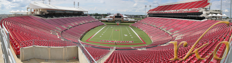 University of Louisville, Stadium, Panorama