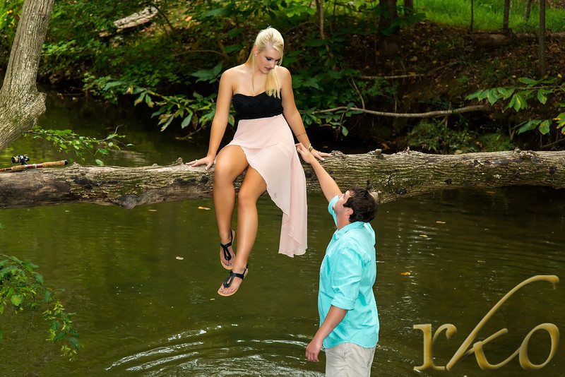 Michelle & Ben Engagement Photo at Tanneyhill State Park
