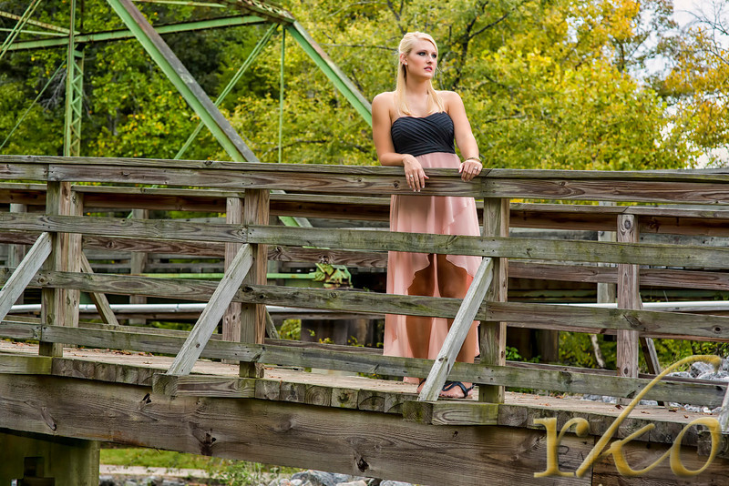 Michelle Martin Engagement Photo at Tanneyhill State Park