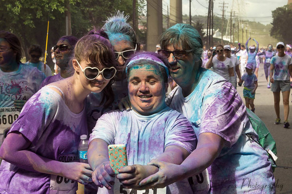 Selfie at Colorpalooza 2014