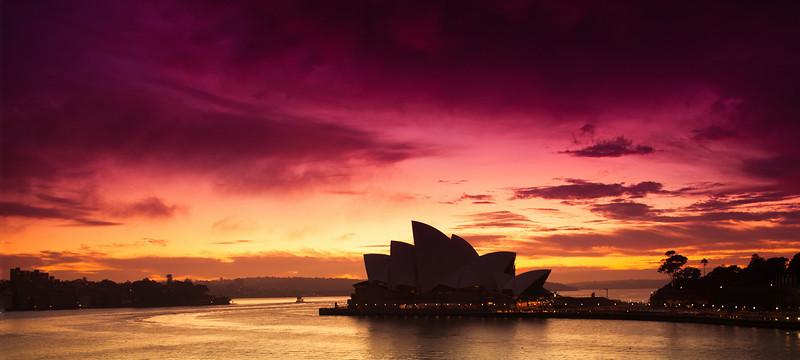 Opera House dawn