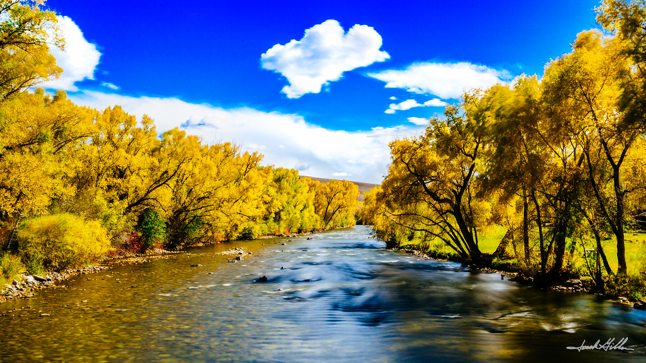 Fall explosion, Gunnison River