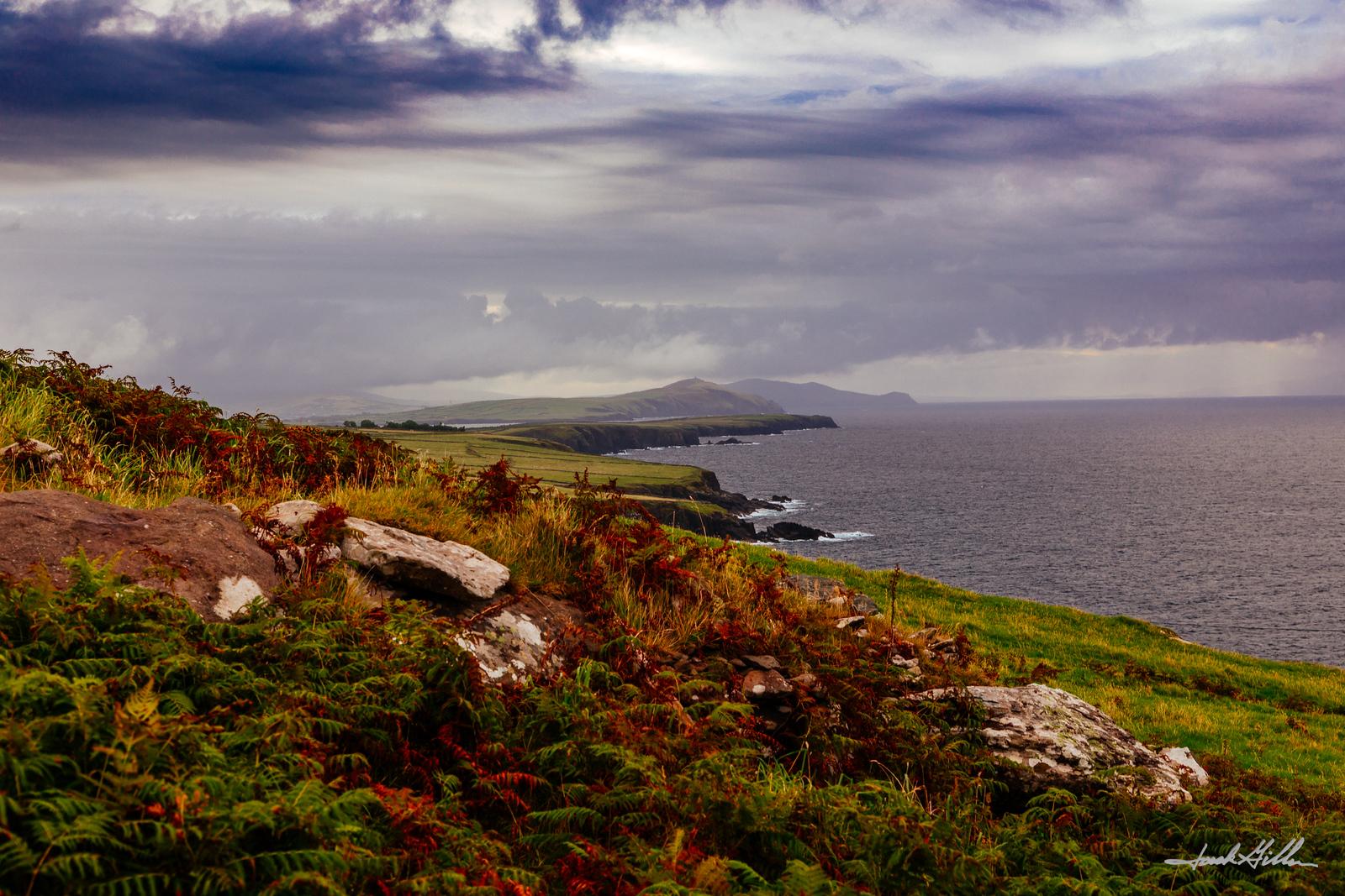 Rugged Coastline on Dingle Peninsula