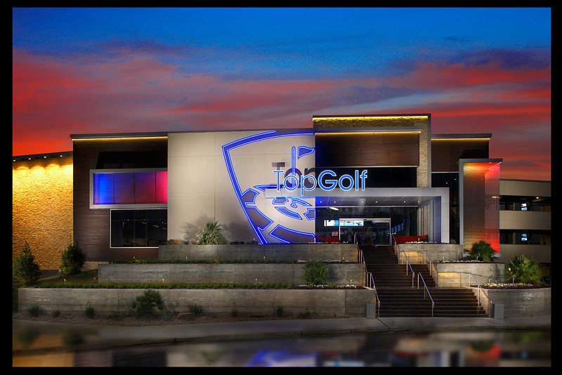 Commissioned by and licensed to Aria Group Architects and Top Golf.