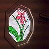 Before: Stained glass window
