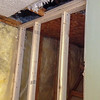 2018-02-14 (Day 2): Master bath.  Ceiling opening to be repaired.  New joists installed.