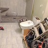 2018-02-22 (Day 8): Master bath.  Toilet installed.