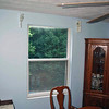 Before photo in dining room.