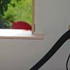Window sill installed in master bedroom.
