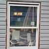 Exterior of the kitchen window.