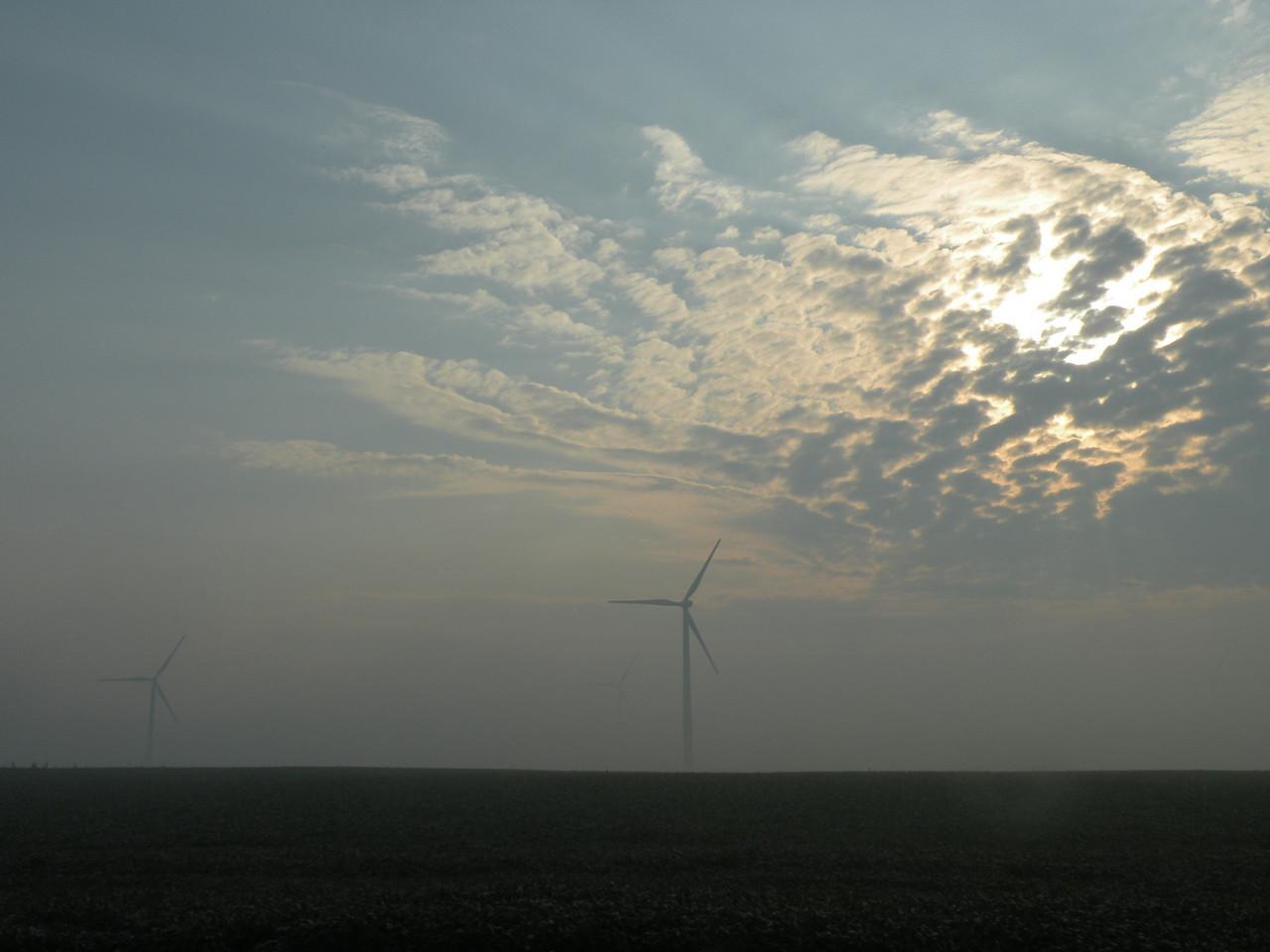 Wind Farm south of Seneca