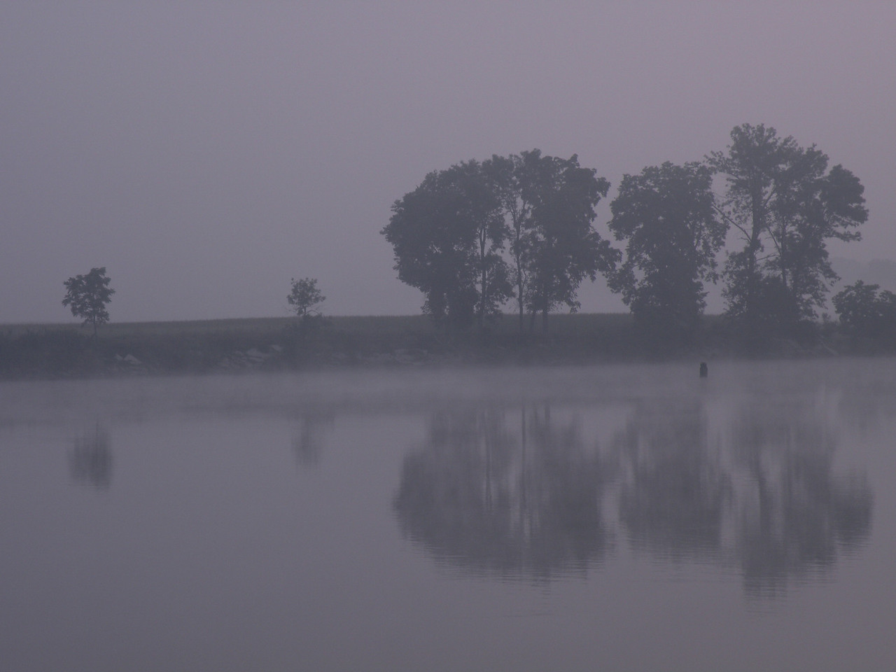 Illinois River in Seneca