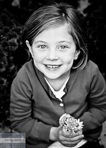 Addie in Flowers-