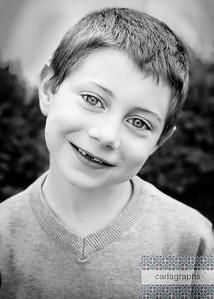 Jake Big Smile b w-