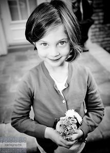 Flower Girl bw-5468