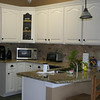 Example: White painted oak cabinets