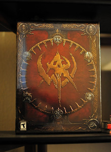 Sealed Warhammer CE box 50mm at f/1.4 with Auto ISO (2200)