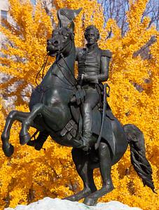 Andrew Jackson, statue