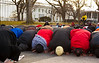 Egyptian protestors, White House, Islam