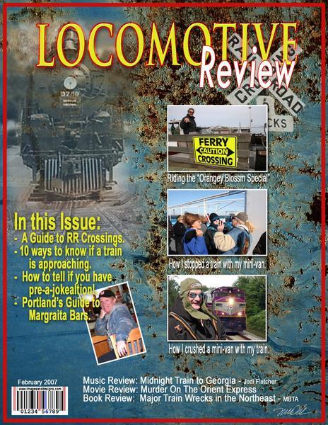 Mock Magazine Cover Sample -- Special Order