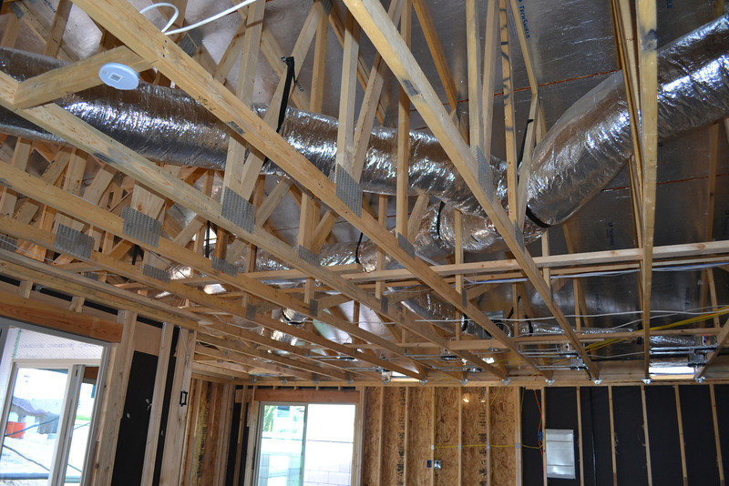 More A/C ducting