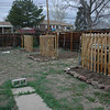 The first six garden beds that I dug, and the lights hung for fun. This was summer 2010 spring at least :)