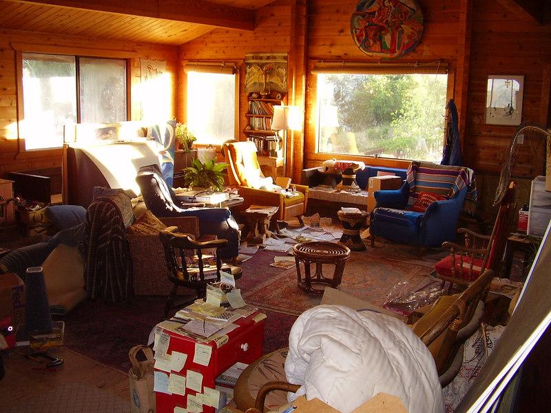Main livingroom (pre-cleaning)