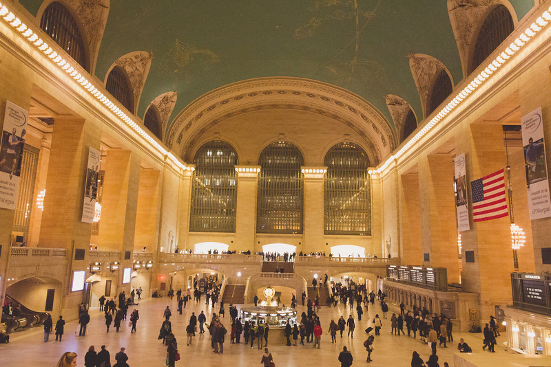 Grand Central Station<br /> The iconic Grand Central Station in New York