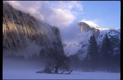 Yosemite National Park, CA Winter in Yosemite Valley