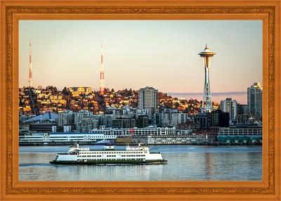 Sky Needle,Seattle,WA
