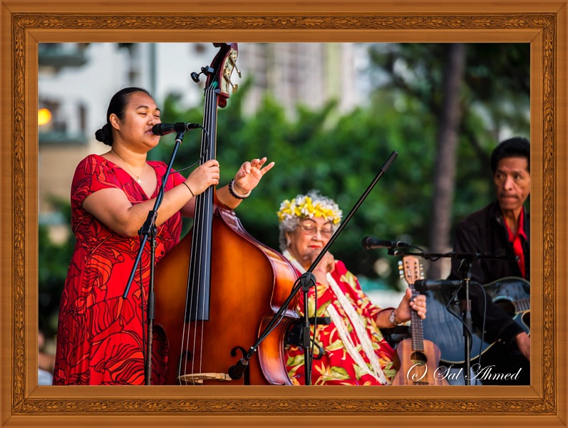 Hawaiian Music At The Waikiki Beach
