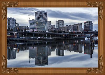 Tacoma Skyline,WA