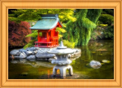 Japanese Pagoda Garden