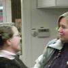 Meg Broderick and friend