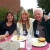 Joan Mason, Michele Windsor, and Botany/Genetics Professor Al Rollins