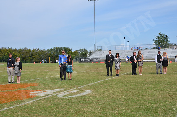 Homecoming Court 9-24-11