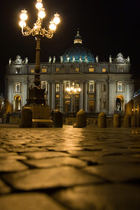 Twilight Photo Tour, St. Peter's Square