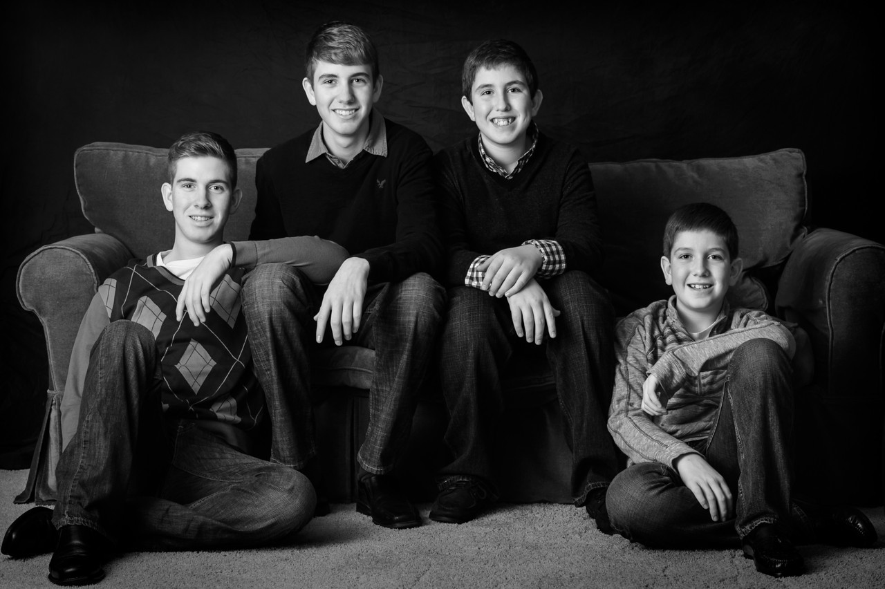 101_George_Family_BW