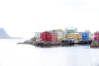 North coast of Norway.