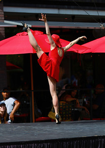 "Dance Piece: ""Boy Meets Girl""  Choreography by Kristy Nilsson  Dancers: Ashleyanne Hensley & Sean Steigerwald Location: Atlanta, GA at Atlantic Station during pARTy! for Art Organizer: Angela Harris' Dance Canvas"