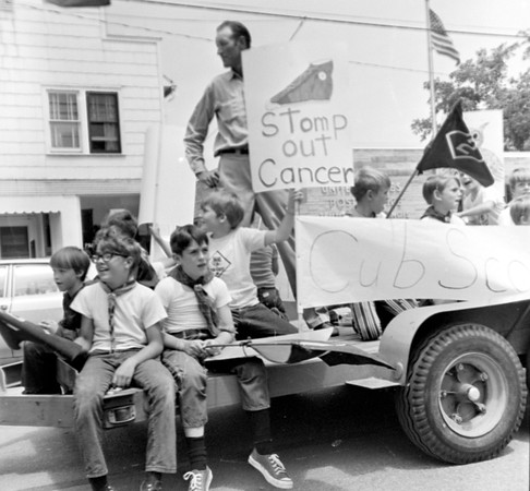 Cancer Day Parade 1973