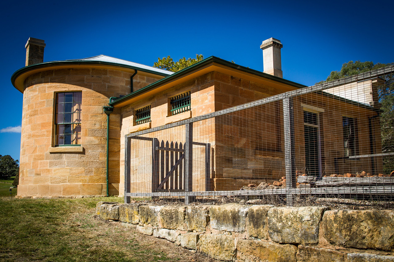 Hartley Vale, Blue Mountains, Australia<br /> Hartley Court House [1837]. Designed by the colonial architect Mortimer Lewis.