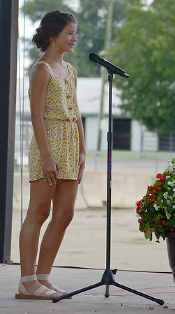 Effingham County Junior Miss Fourth Runner Up Kyndal Fearday