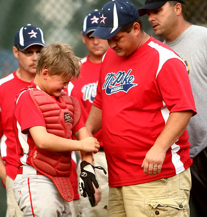 6-21-12<br /> Championship little league game between Lion's Club and McPike<br /> <br /> KT photo | Kelly Lafferty