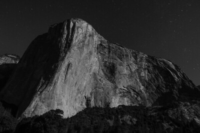 El Capitan Under the Stars