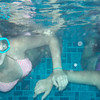 This underwater showsÊgrand-daughters Brooke and Hope Schroeder cooling down in the pool on a hot summer night.<br /> <br /> Submitted by Tedd and Sandy Schroeder.